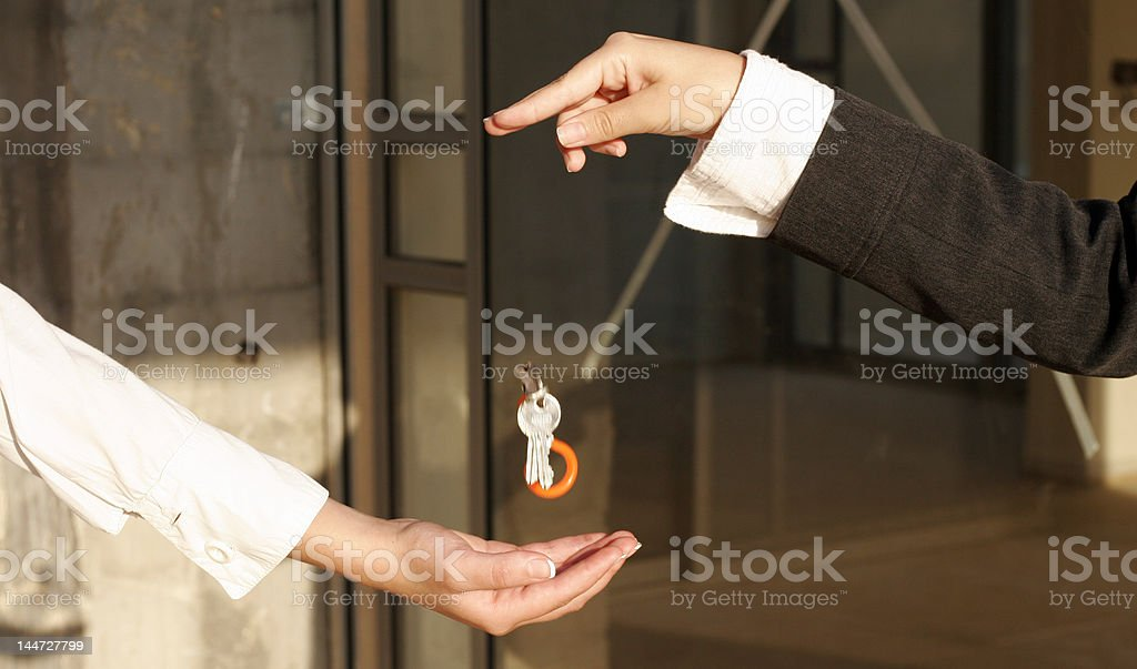 the key to success. royalty-free stock photo
