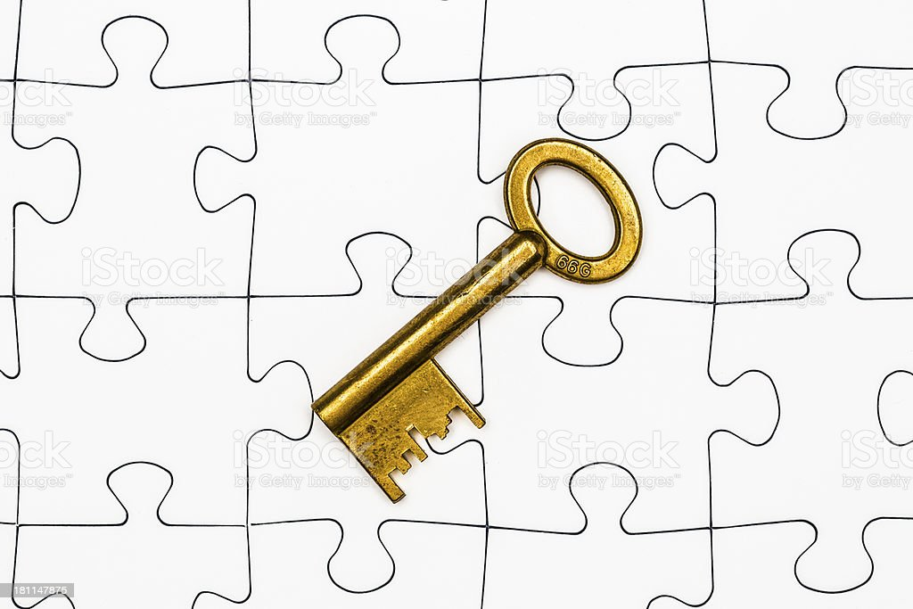 The key to success royalty-free stock photo