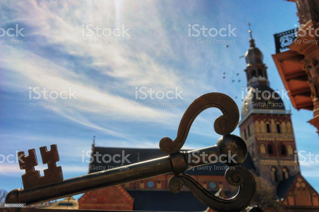里加市關鍵 免版稅 stock photo