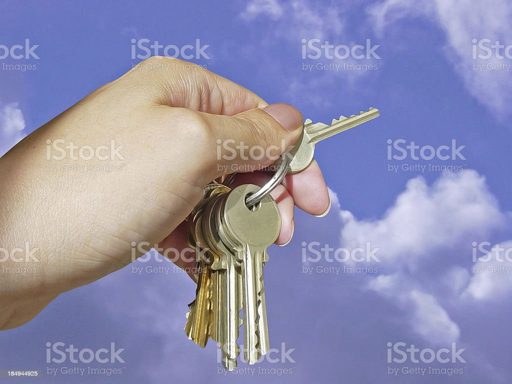 The Key to Unlocking Potential royalty-free stock photo
