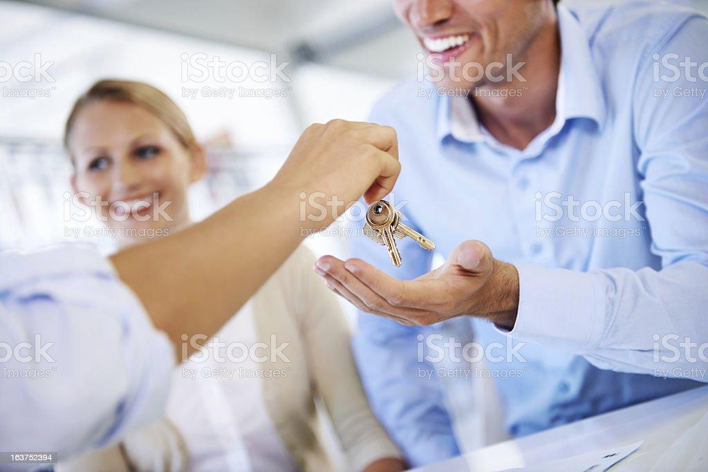 Les clés de la maison - Photo