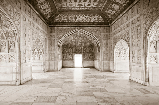 The Khas Mahal - Red Fort Agra