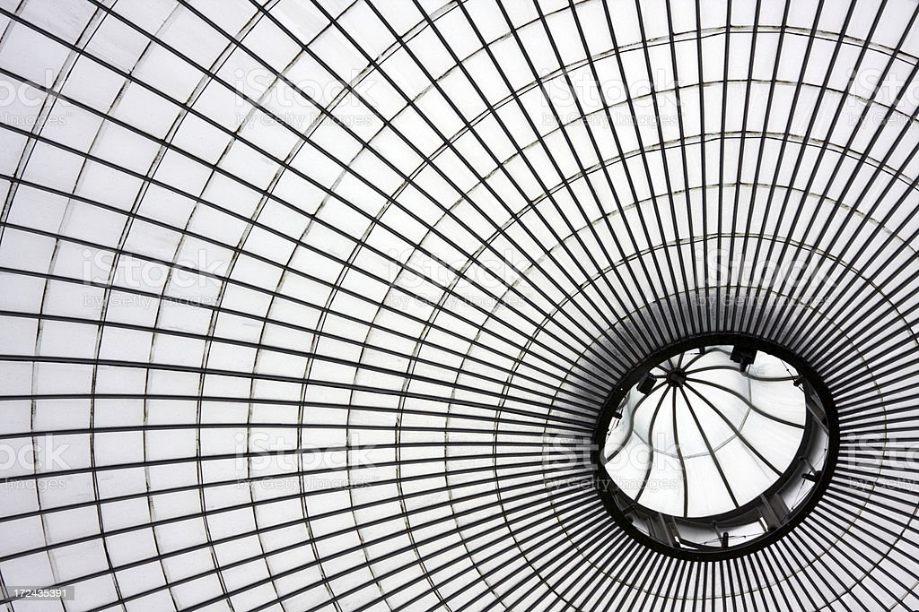 The Kibble Palace Dome royalty-free stock photo