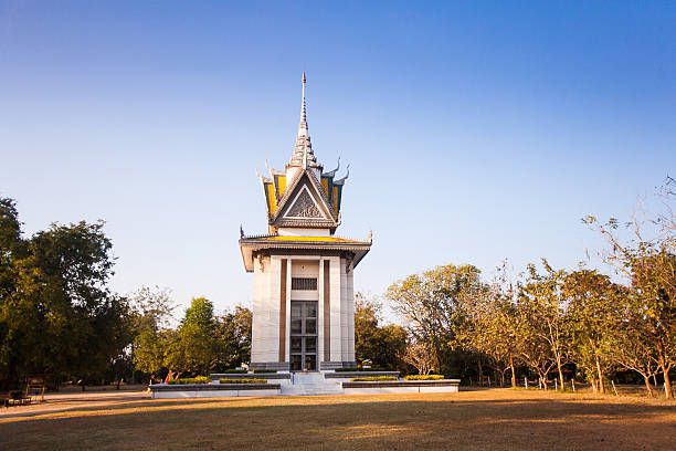 Das Töten Bereichen Choeung Ek in Phnom Penh, Kambodscha – Foto