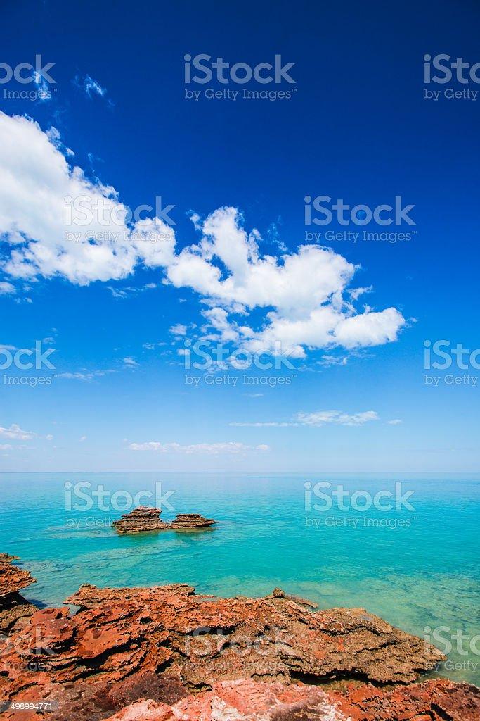 The Kimberley Coast stock photo