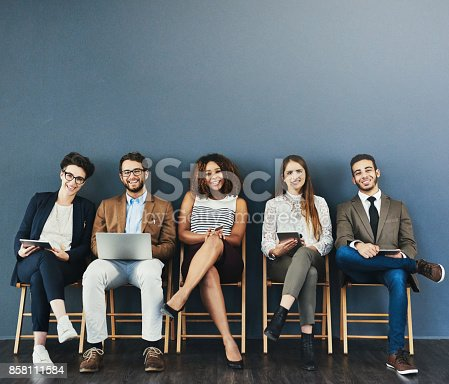 istock The kind of confidence you want in great candidates 858111584