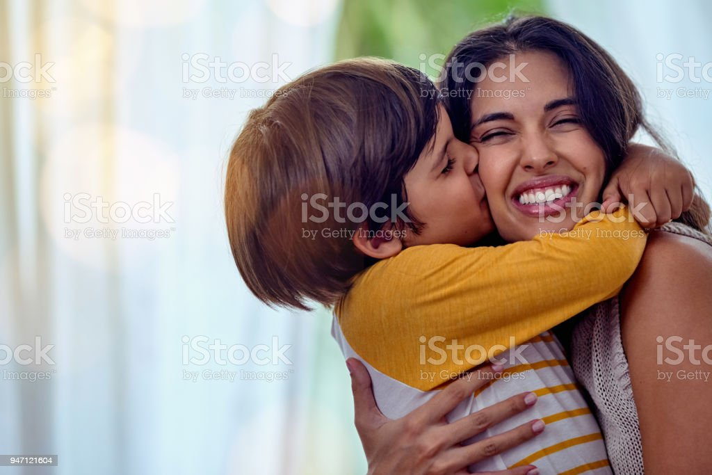 The kind of love that can't be described, only felt stock photo