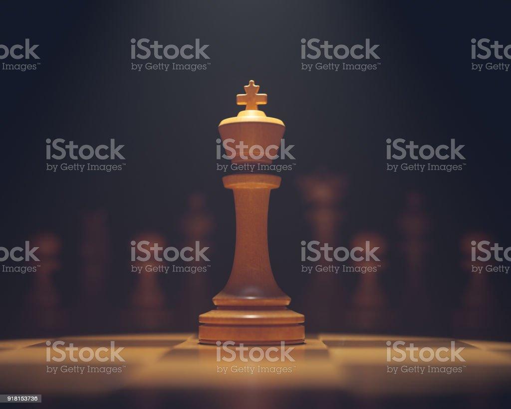 Der König im Highlight – Foto