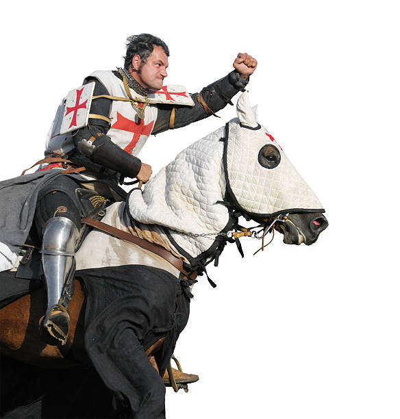 the king templar - the crusades stock photos and pictures