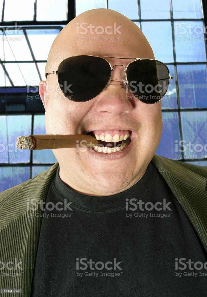 The Kingpin portrait stock photo