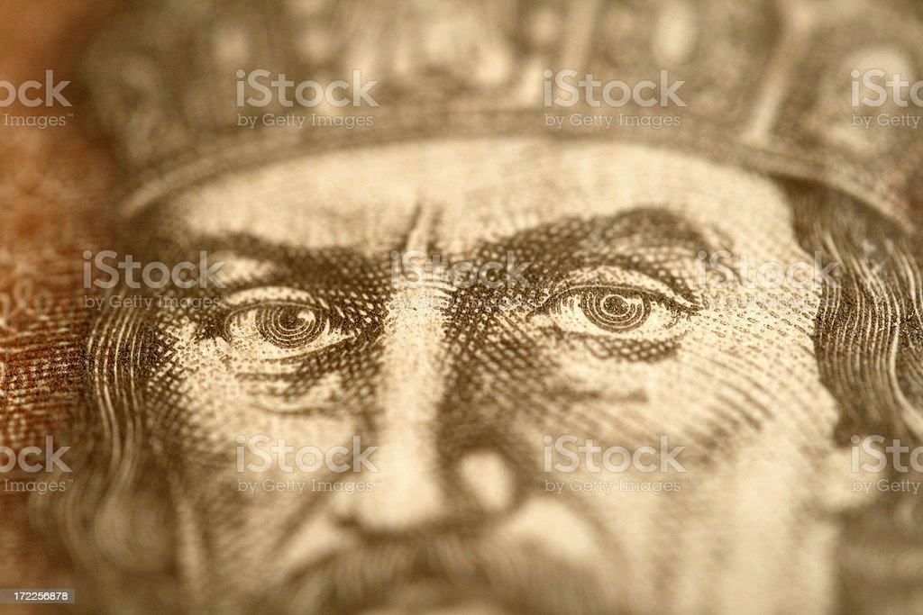 The Kings Eyes royalty-free stock photo