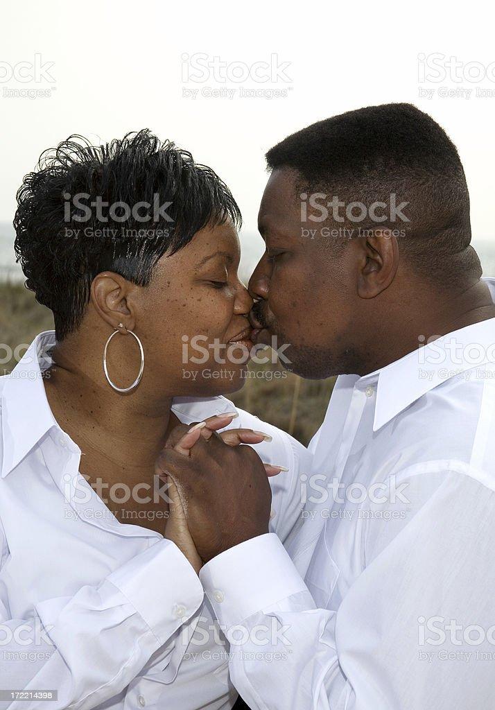The Kiss royalty-free stock photo