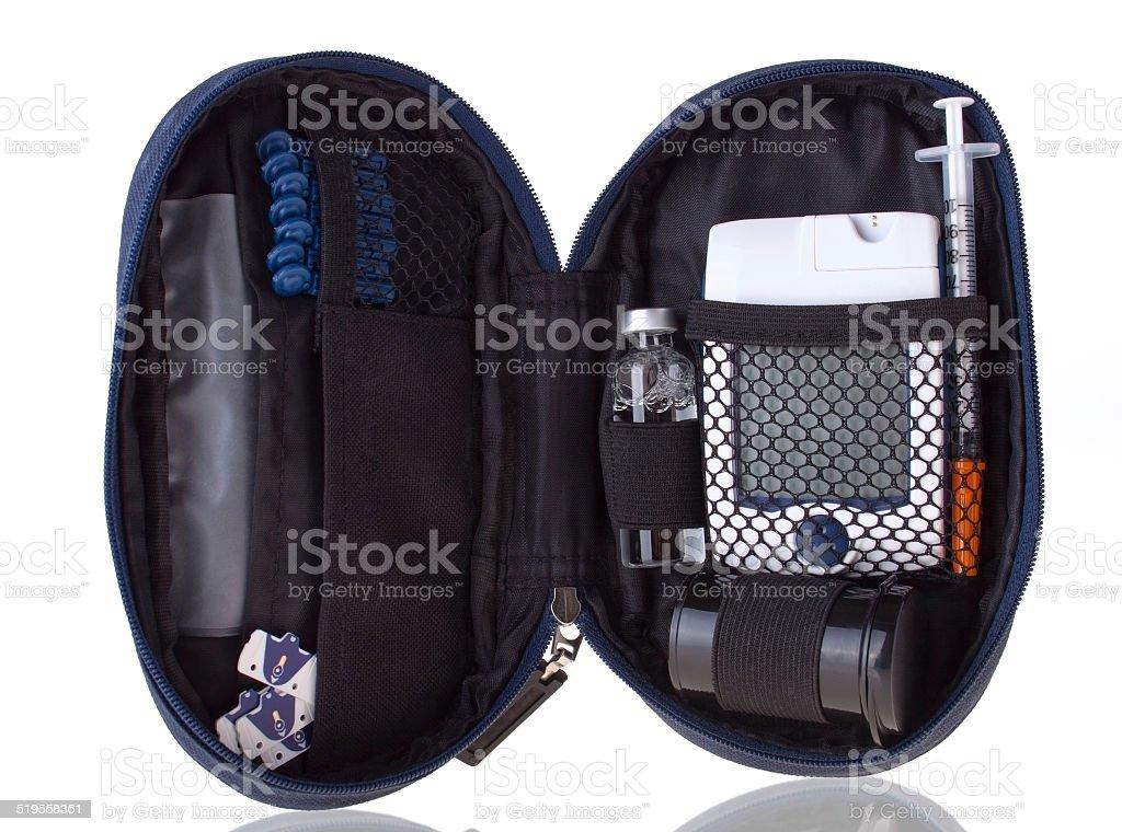 The Kit for Diabetic stock photo