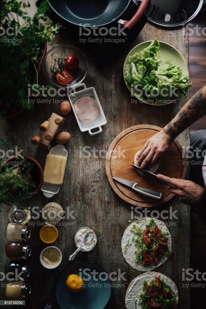 Die Küche ist das Herz der Hause – Foto