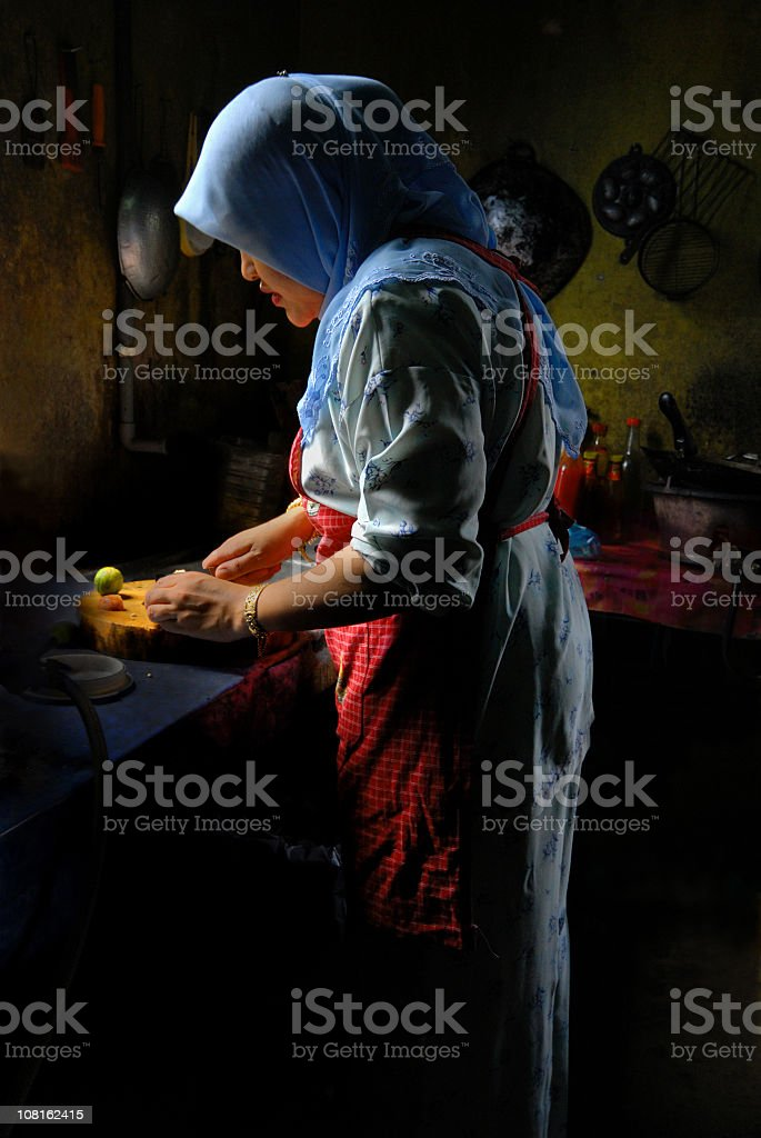 The Kitchen Maid royalty-free stock photo