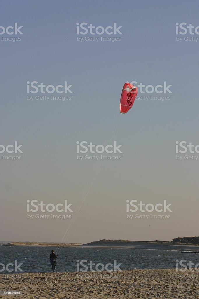 The kite man royalty-free stock photo