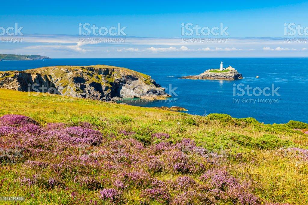 The Knavocks Godrevy Cornwall England stock photo