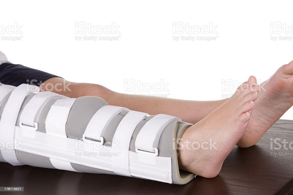The Knee Brace stock photo