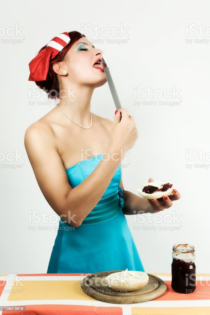 the knife royalty-free stock photo