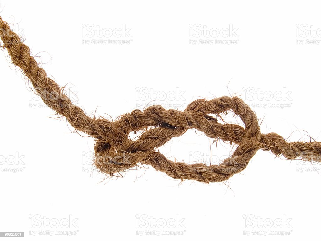 The knot royalty-free stock photo