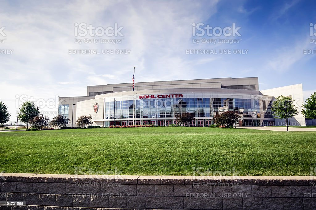 The Kohl Center at the University of Wisconsin–Madison stock photo