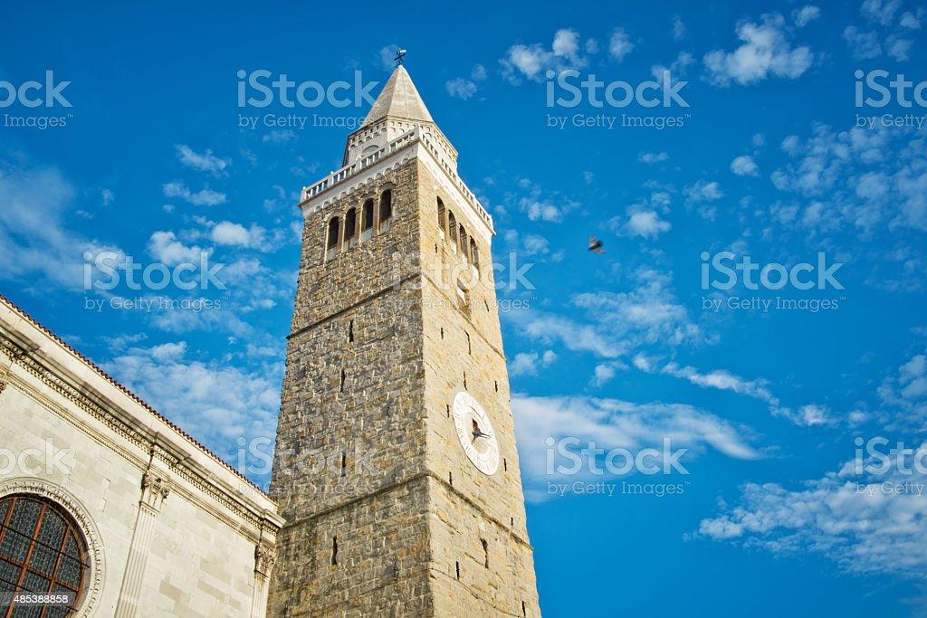 The Koper Bell Tower stock photo