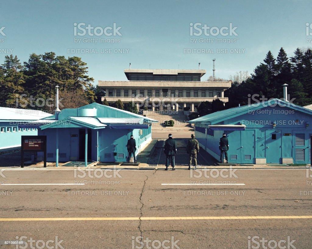 The Korean Demilitarized Zone (DMZ), Korea stock photo