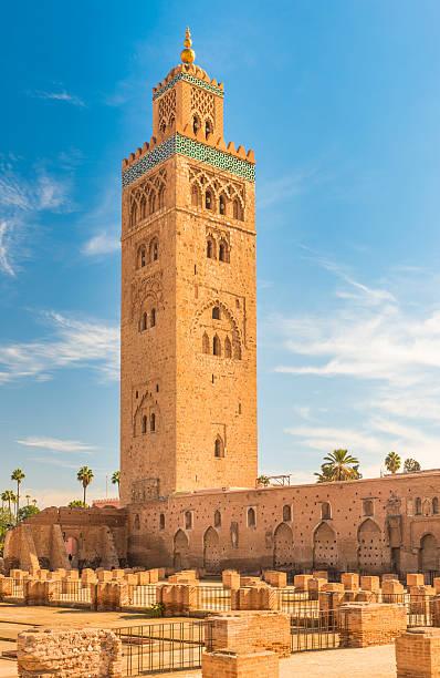 The Koutoubia Mosque, Marrakesh, Morocco – Foto