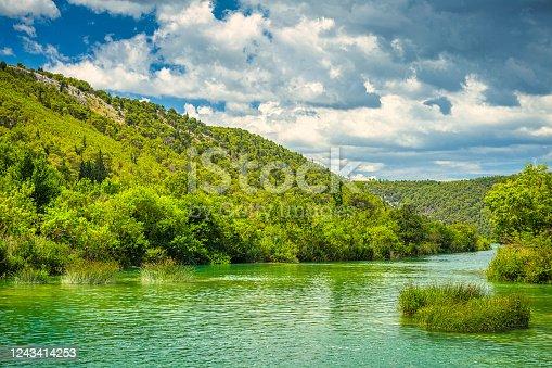 The Krka National Park in Croatia, Europe.