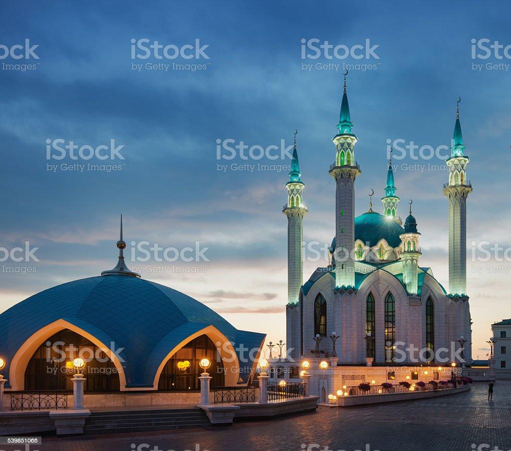 The Kul Sharif Mosque stock photo
