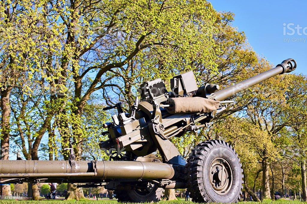 The L118 Light Gun stock photo