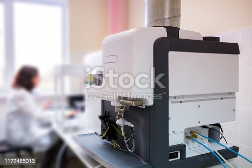 istock The laboratory scientist work with microwave plasma atomic emission spectrometer (MPAES) for elemental property analysis of material sample in all areas of industry. 1172485013
