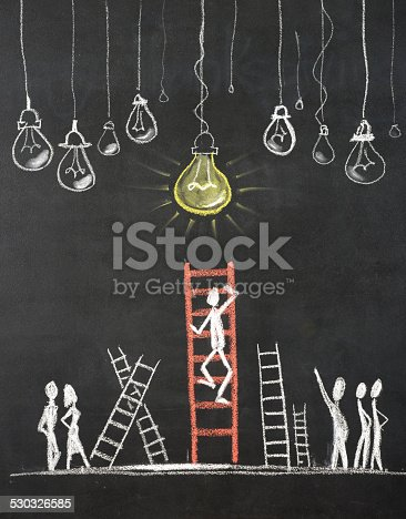 539247613istockphoto The Ladder of success Concept 530326585