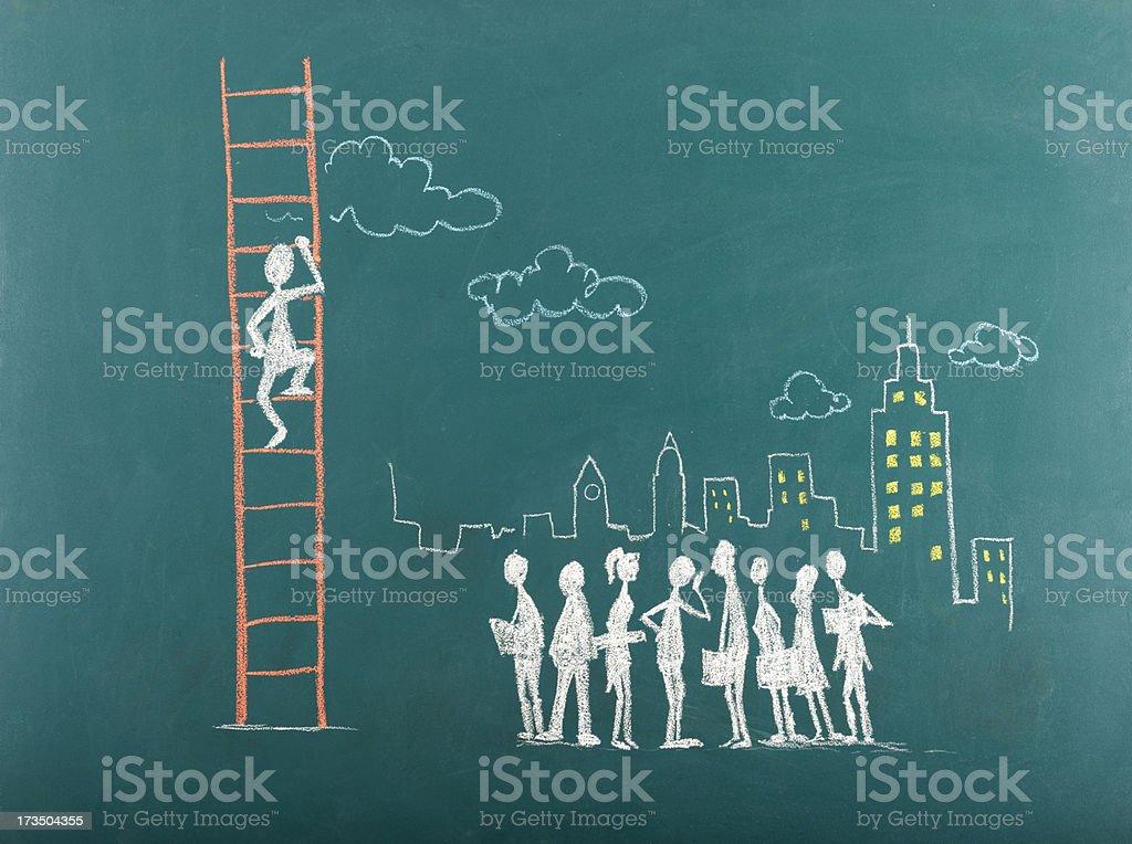 A Escada do Sucesso - foto de acervo