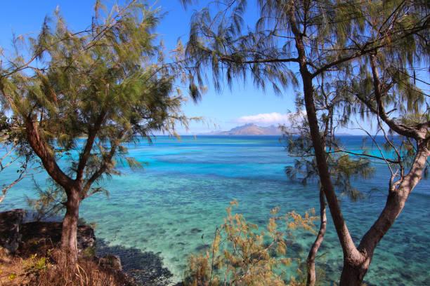 Die Lagune von den Inseln Narara und Naukacuvu, Yasawa, Fidschi – Foto