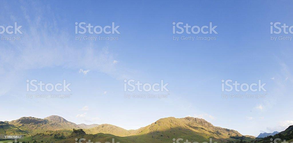 The Lake District. royalty-free stock photo