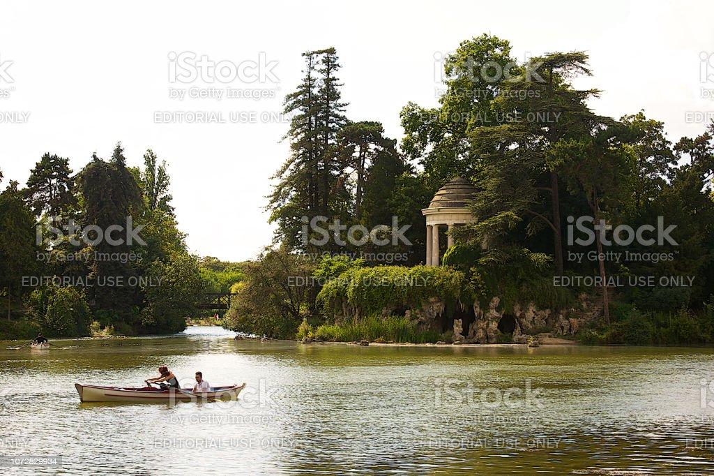 Le lac de Daumesnil à Paris. - Photo
