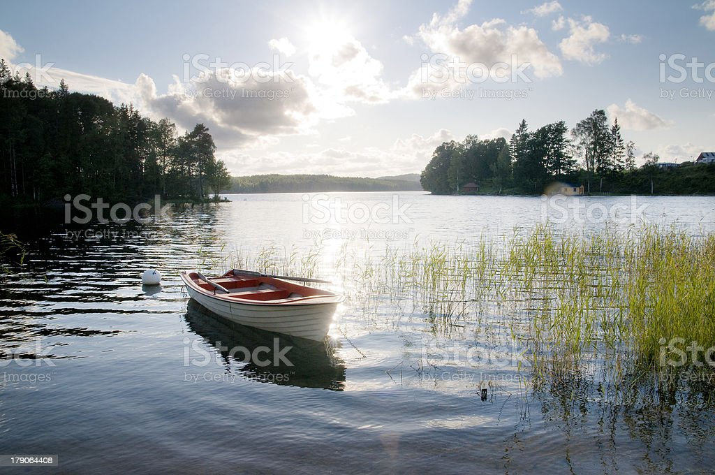 the lake royalty-free stock photo