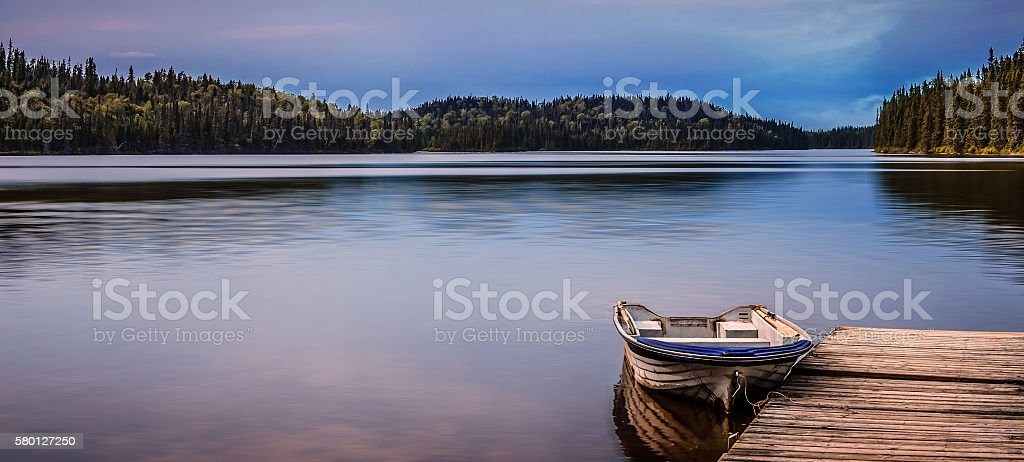 Le Lac stock photo