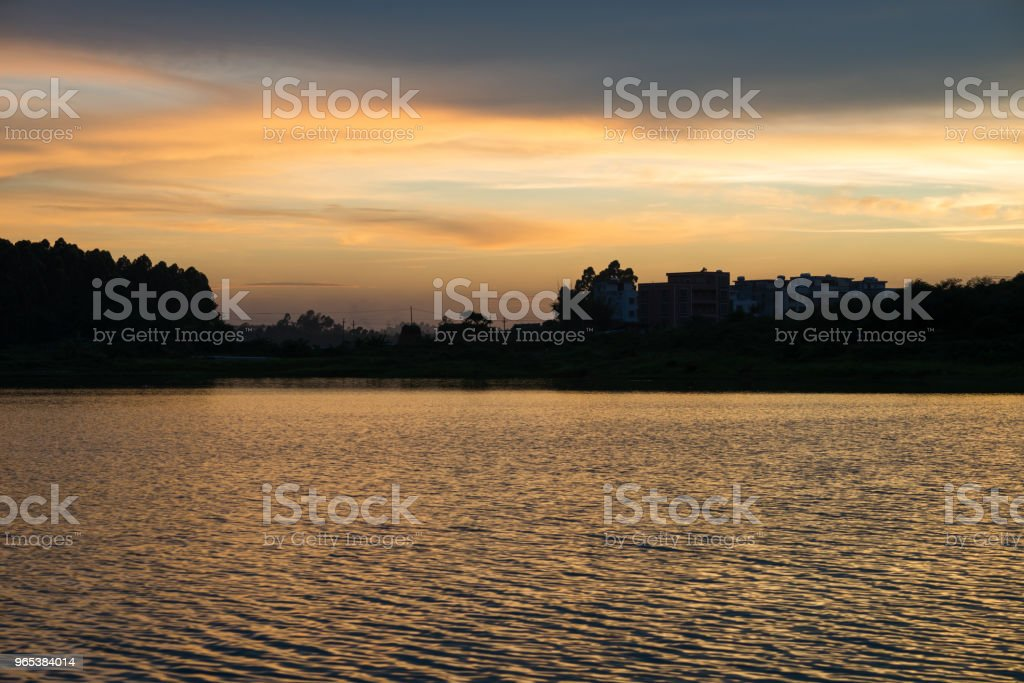 the lake zbiór zdjęć royalty-free