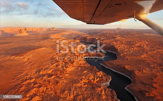 istock The lake Powell and canyon Antelope on a sunset 1092203682
