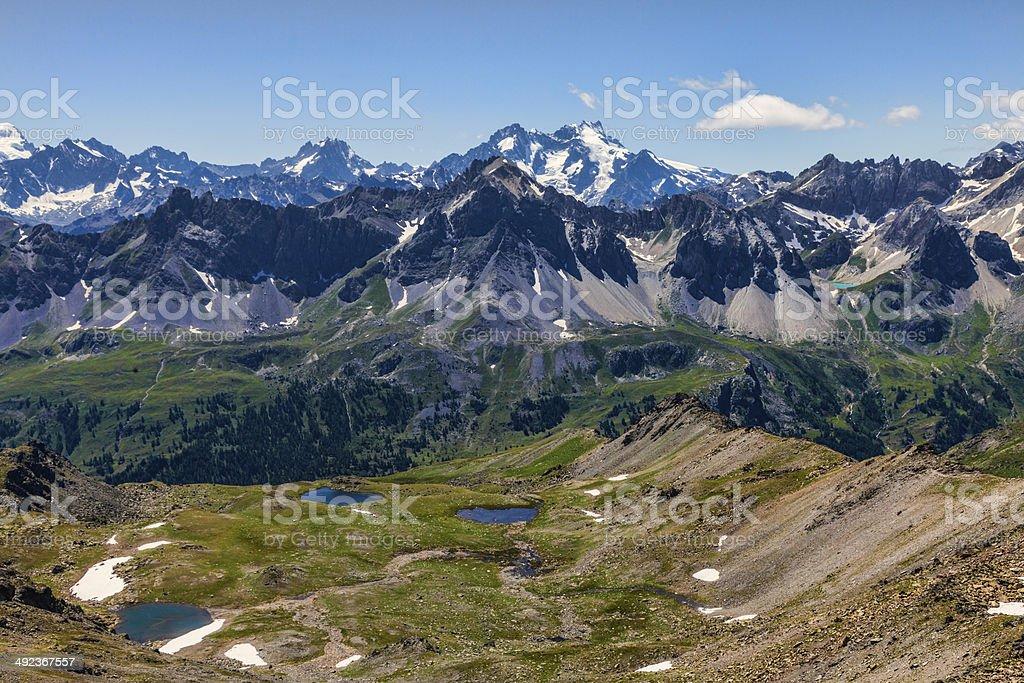 The Lakes Gardioles stock photo