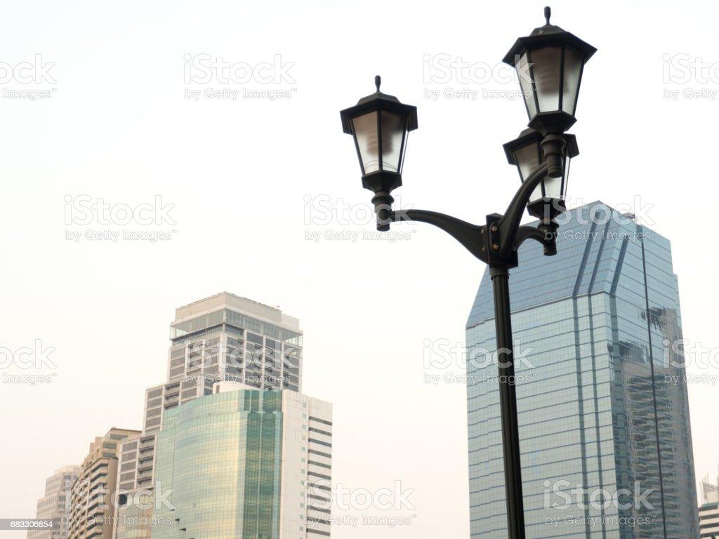 The lamp stand alone. foto de stock libre de derechos
