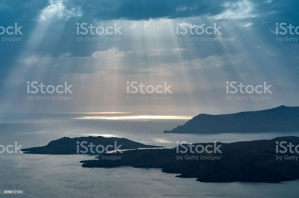 The land of the Gods stock photo