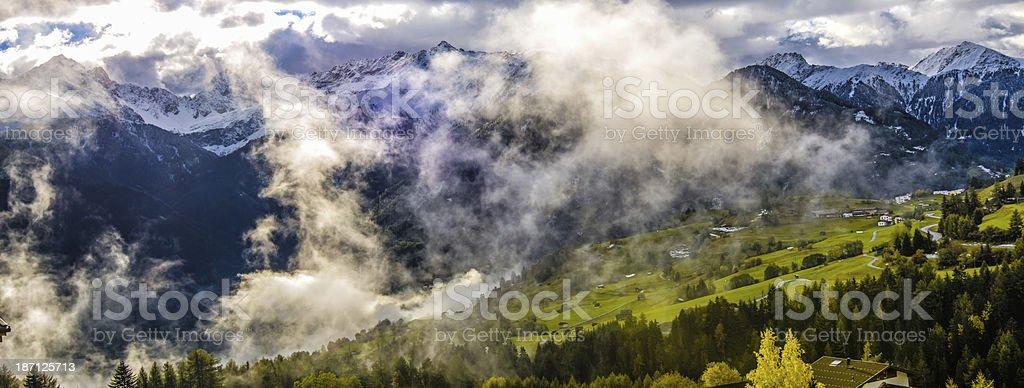 The land of Tirol in Austria royalty-free stock photo