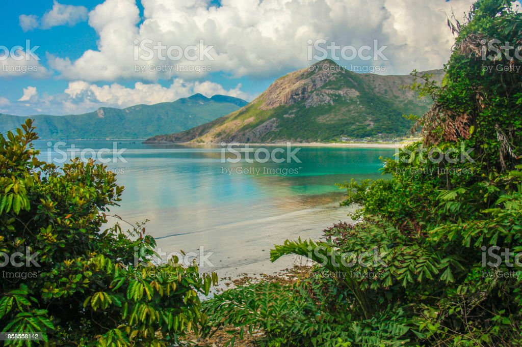 The landscapes of Con Dao Islands, Vietnam stock photo