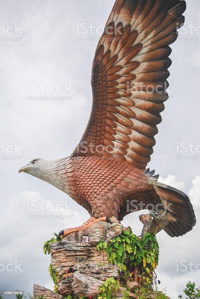 The Langkawi Eagle stock photo