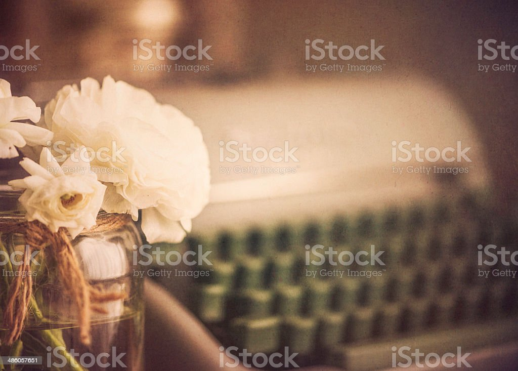 The Language of Flowers stock photo