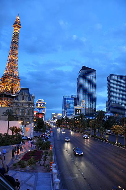 The Las Vegas Strip stock photo