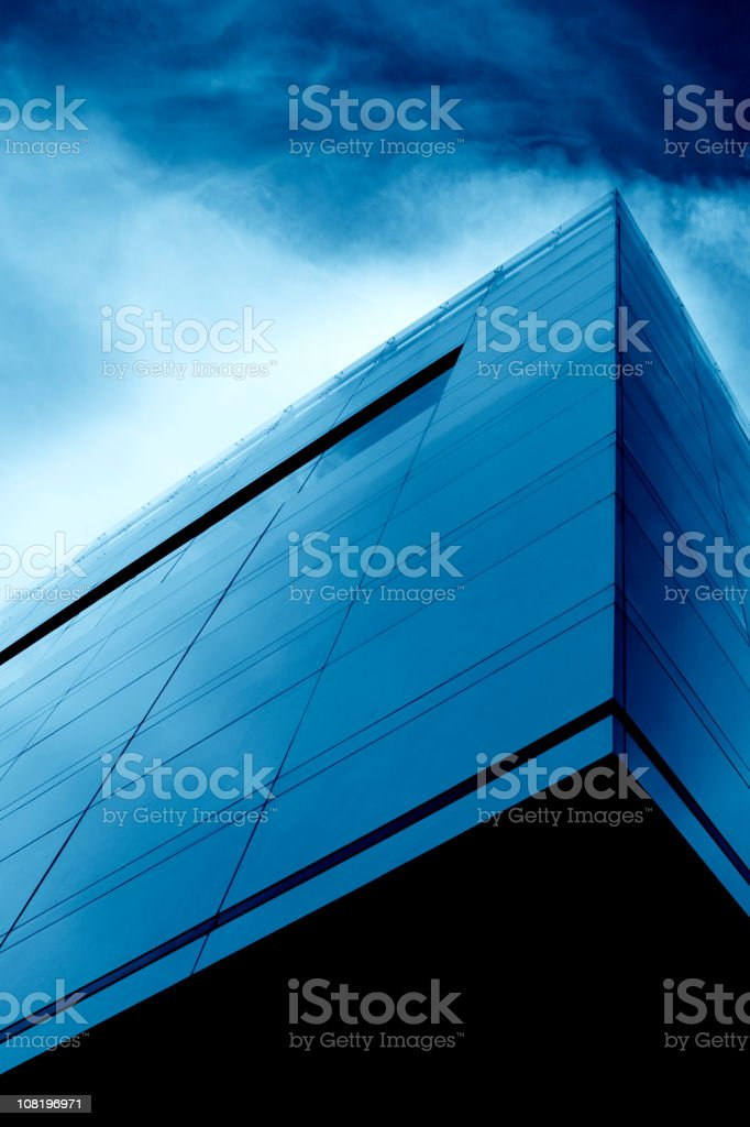 The last corporate storm royalty-free stock photo